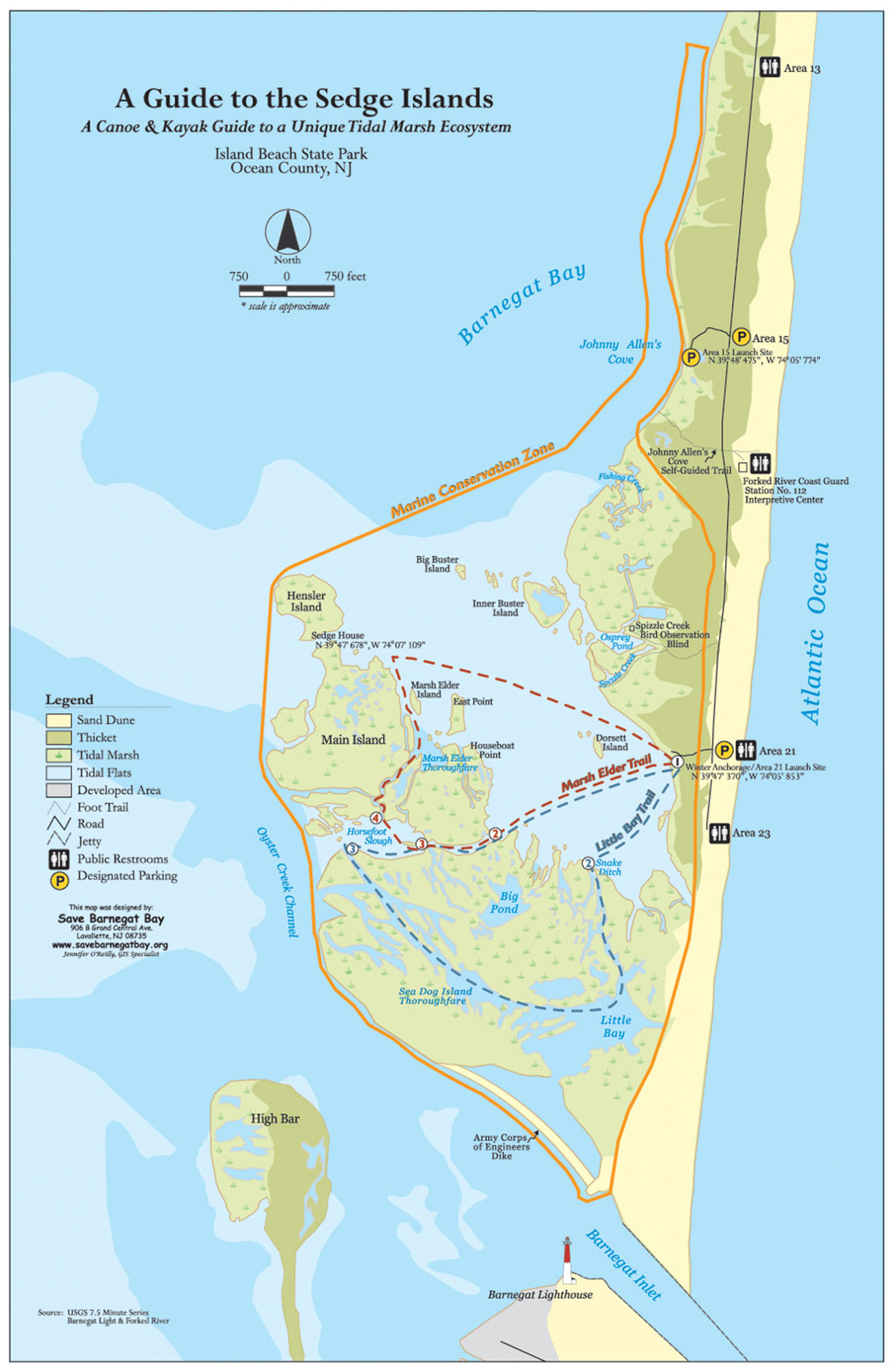 Birding the sedge islands in island beach state park for Island beach state park fishing report
