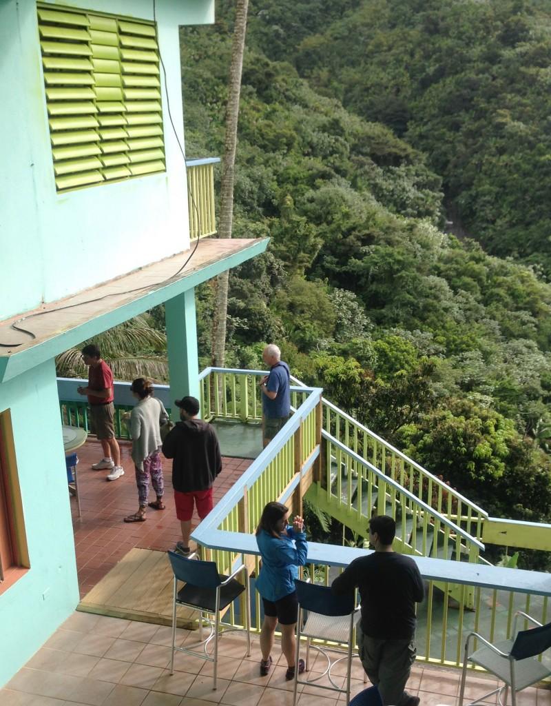 Casa Cubuy balconies