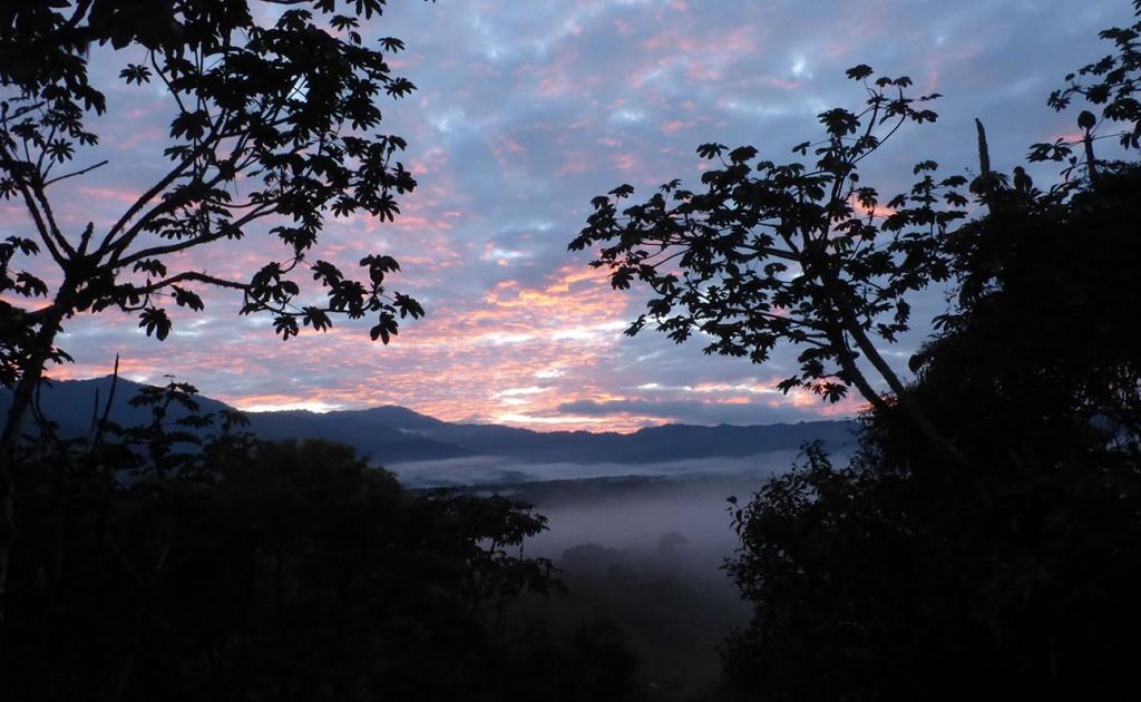 San Isidro sunset